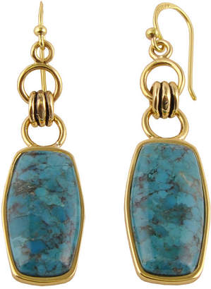Artsmith BY BARSE Art Smith by BARSE Genuine Turquoise Brass Earrings
