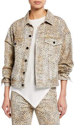 Alexander Wang Game Cheetah-Print Jacket