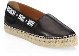 Givenchy Capri Leather Espadrilles