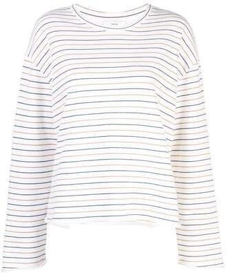 Vince striped sweatshirt