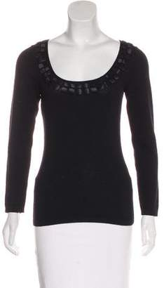 Philosophy di Alberta Ferretti Embellished Knit Sweater