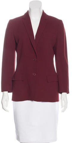 Calvin Klein Collection Wool Notched-Lapel Blazer