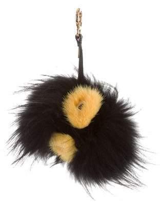 Fendi Grimmy Fur Bag Bug Charm