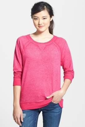 Caslon Burnout Sweatshirt (Regular & Petite)