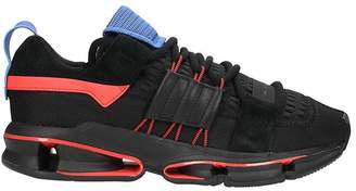 adidas Twinstrike Adv Sneakers Black Breathable Technical Fabric And Suede