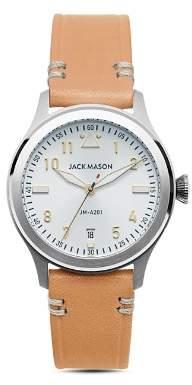 Jack Mason Aviator Watch, 36mm
