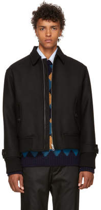 Prada Black Zip-Up Jacket