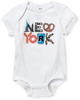 Baby Essentials Miss Popular (Newborn/Infant Girls) Short Sleeve New York Bodysuit