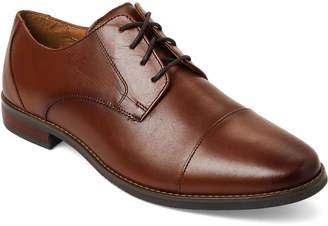 Florsheim Tan Matera Leather Cap Toe Oxfords