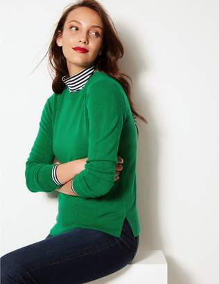 Marks and Spencer Round Neck Long Sleeve Jumper