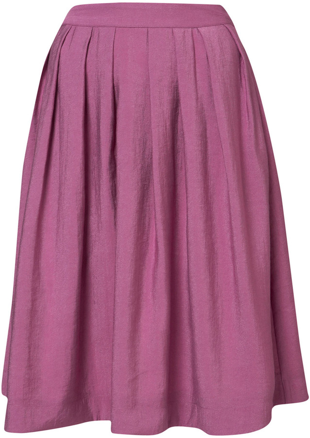 Purple Shimmer Full Skirt
