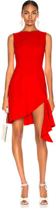 Oscar de la Renta Slit Dress in Cayenne | FWRD