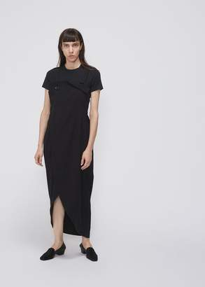 Yohji Yamamoto Y's by Sleeveless Wrap Dress
