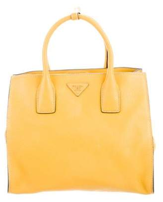 Prada Vitello Daino Twin Pocket Tote gold Vitello Daino Twin Pocket Tote