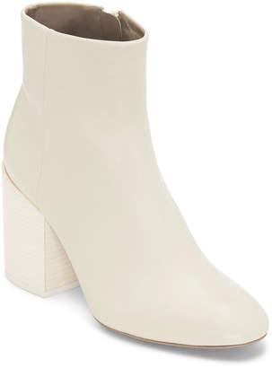 Mercedes Castillo Madox Leather Block-Heel Booties
