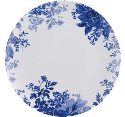 Paula Deen Set of 4 Tatnall Street Dinner Plates, Bluebell
