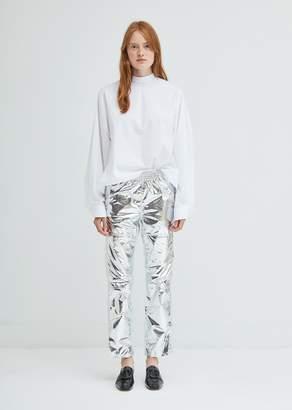 MM6 MAISON MARGIELA Silver Straight Leg Pants