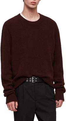AllSaints Hawk Oversize Wool Blend Sweater