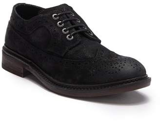 Frank Wright Baird Suede Leather Oxford