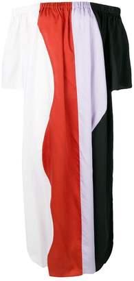 Mara Hoffman striped maxi dress