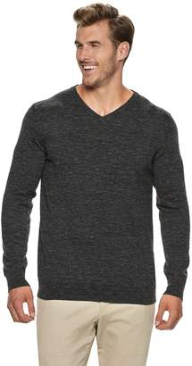 Sonoma Goods For Life Big & Tall SONOMA Goods for Life Supersoft Modern-Fit V-Neck Sweater