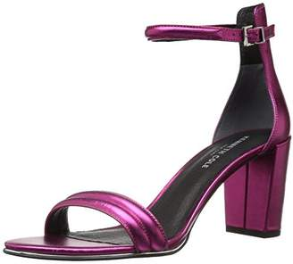 Kenneth Cole New York Women's Lex Strappy Block Heel Metallic Dress Sandal