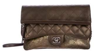 Chanel Paris-Salzburg Ponyhair Flap Crossbody Bag Metallic Paris-Salzburg Ponyhair Flap Crossbody Bag