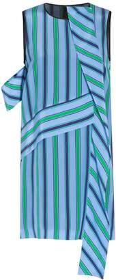 MSGM Striped Crepe Dress