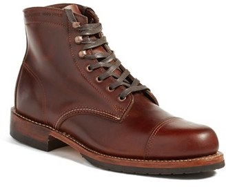 Men's Wolverine 'Adrian' Cap Toe Boot $415 thestylecure.com