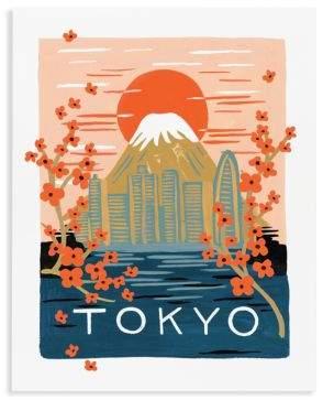 Rifle Paper Co. Bon Voyage Tokyo Wall Art