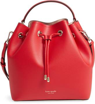Kate Spade Medium Vivian Leather Bucket Bag