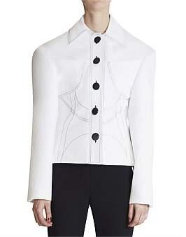 Ellery Modular Shaped Oversized Blazer