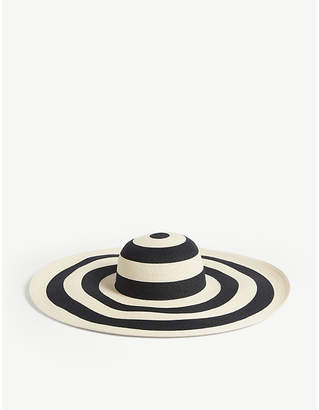 34f0400fd2c Eugenia Kim Sunny striped straw hat