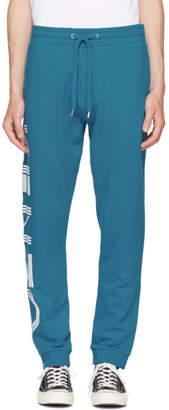 Kenzo Blue Logo Jogpant Lounge Pants