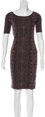 Gucci Patterned Knit Dress