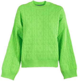 MSGM Knitted Cord Sweater