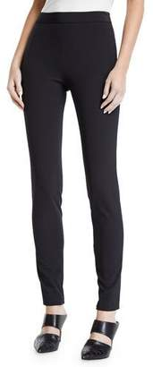 Theory High-Waist Side-Zip Leggings - Recycled Becker