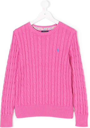 Ralph Lauren chunky knit sweater