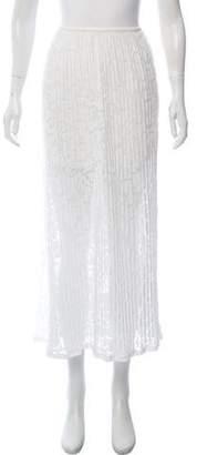 Theory Knit Midi Skirt