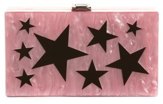 Nordstrom Etoile Acrylic Box Clutch - Pink