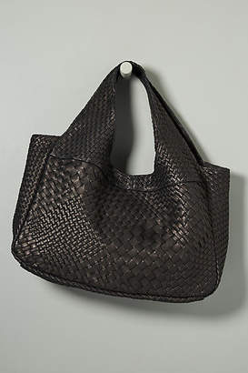 At Anthropologie Claramonte Pablo Woven Tote Bag