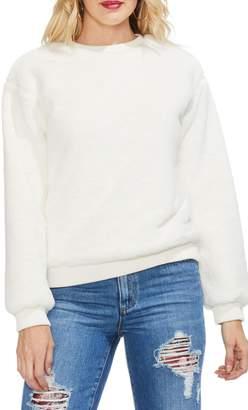 Vince Camuto Plush Sweatshirt