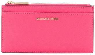 MICHAEL Michael Kors top zip card case