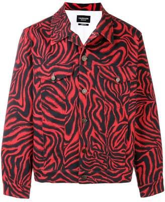 Calvin Klein print denim jacket