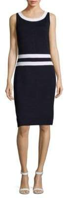St. John Santana Knit Sleeveless Dress