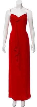 Valentino Sleeveless Maxi Dress