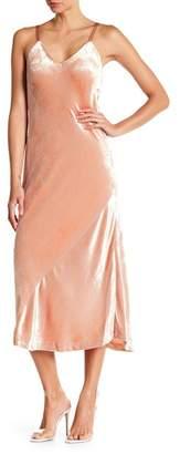 A.L.C. Annex Velvet V-Neck Dress