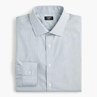 J.Crew Ludlow Slim-fit stretch two-ply easy-care cotton dress shirt in sky blue