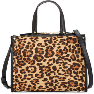 INC International Concepts Inc Remmey Leopard Print Satchel