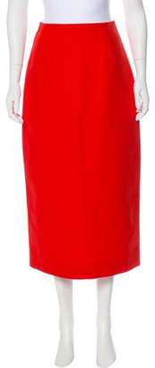 Rosie Assoulin Pencil Midi Skirt